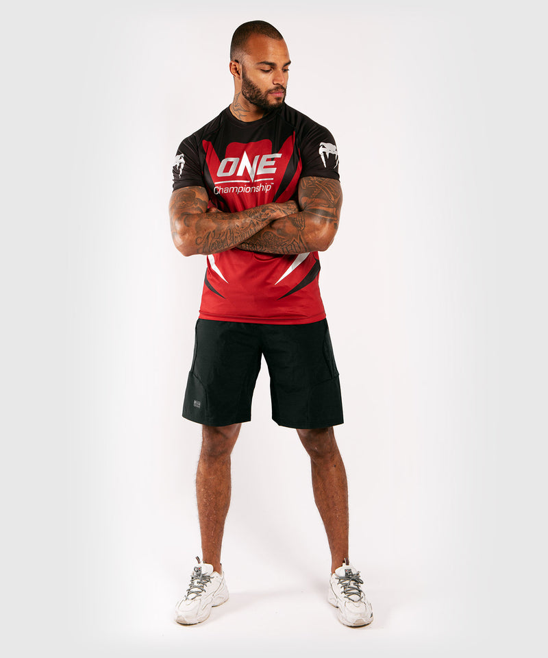 Venum x ONE FC Dry Tech T-shirt - Red picture 5