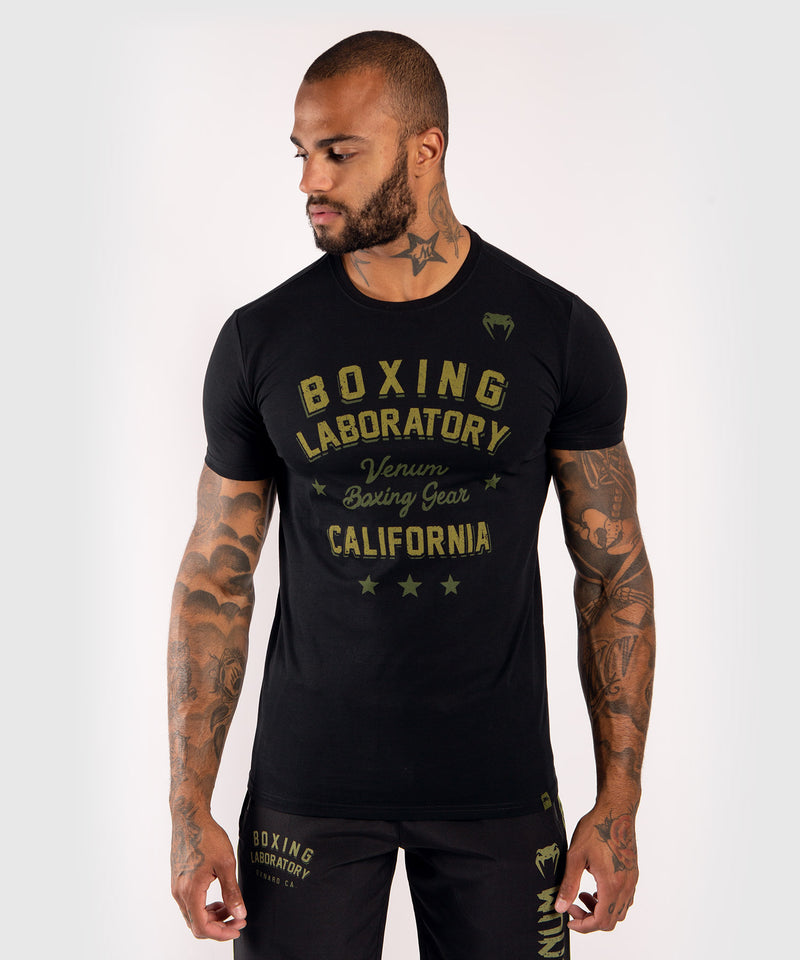 Venum Boxing Lab T-shirt - Black/Green picture 1