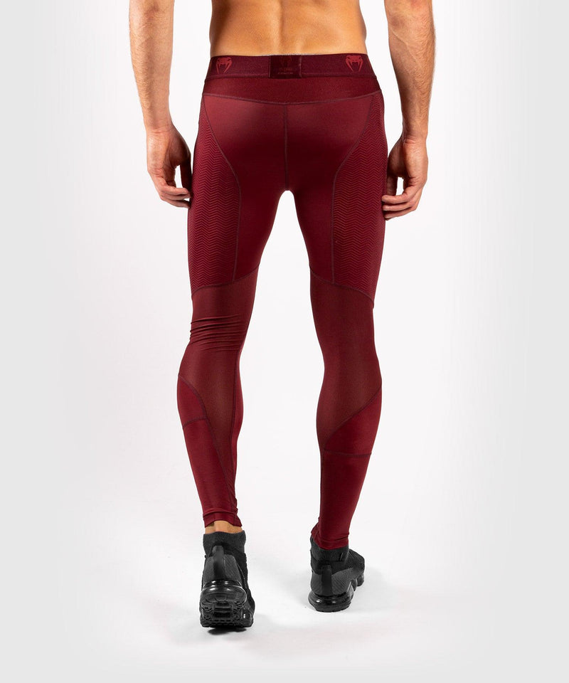 Venum G-Fit Compresssion Tights - Burgundy picture 2