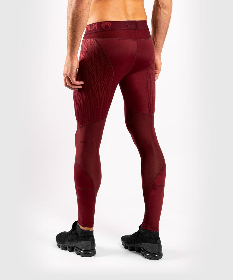 Venum G-Fit Compresssion Tights - Burgundy picture 4