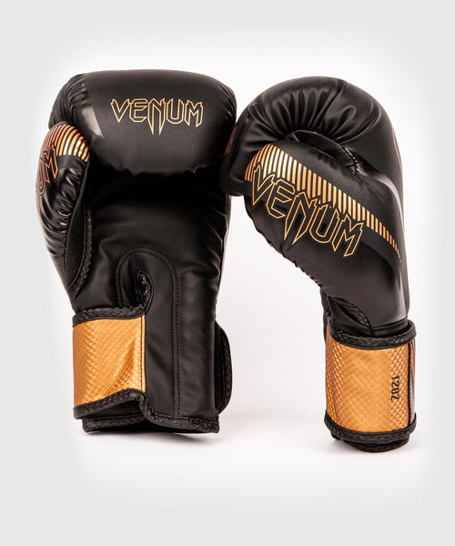 Venum Impact Boxing Gloves - Black/Bronze - picture 2