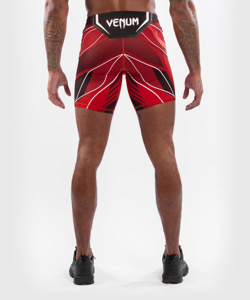 UFC Venum Authentic Fight Night Men's Vale Tudo Shorts - Long Fit – Red Picture 2