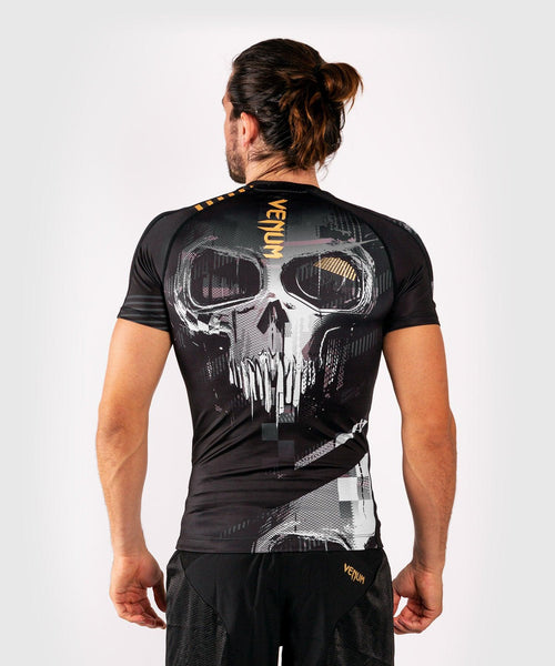 Venum Skull Rashguard - Short sleeves - Black picture 2