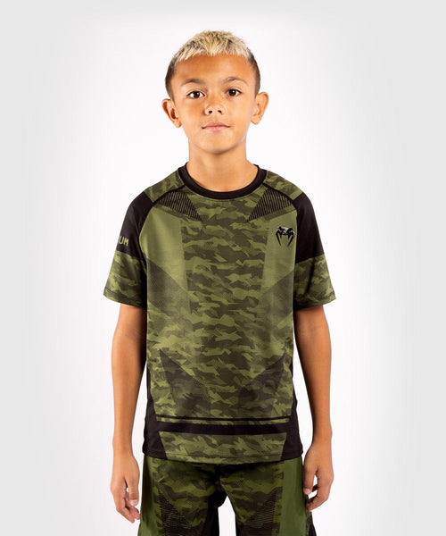 Venum Trooper Kids Dry-Tech T-shirt - Forest camo/Black picture 1