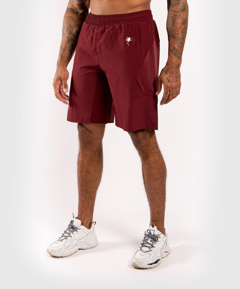 Venum G-Fit Training Shorts - Burgundy picture 1