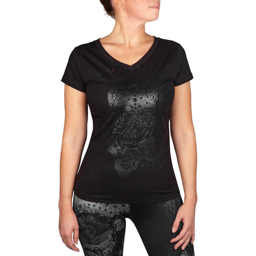 Venum Santa Muerte 3.0 T-shirt - Black/Black - For Women picture 1