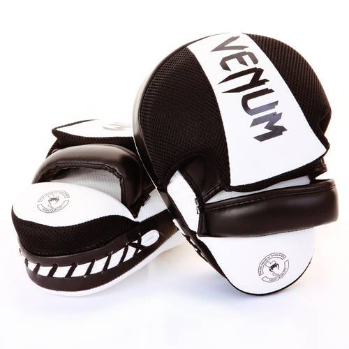 Venum Focus Mitts Cellular 2.0 - White/Black (Pair) picture 2