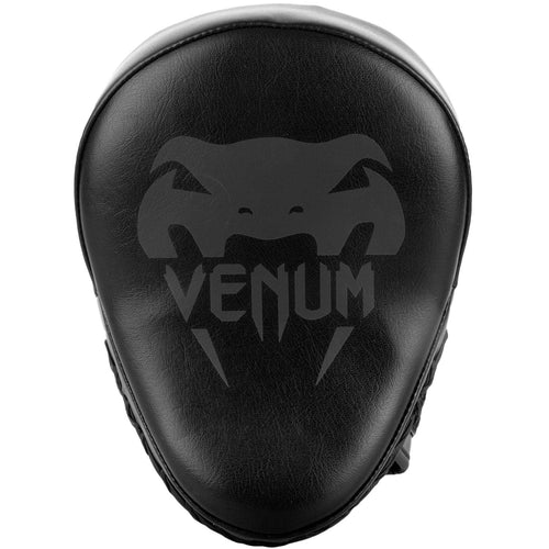Venum Light Focus Mitts - Black/Black (Pair) picture 2