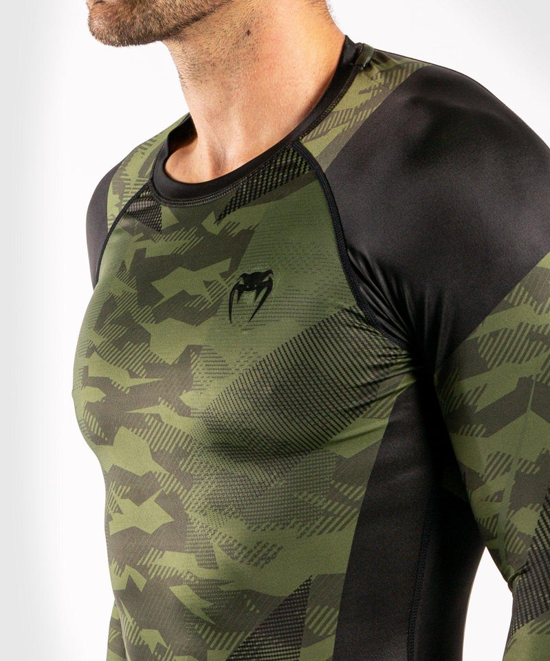 Venum Trooper Rashguard - Long sleeves - Forest camo/Black picture 5