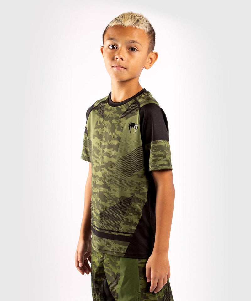 Venum Trooper Kids Dry-Tech T-shirt - Forest camo/Black picture 3