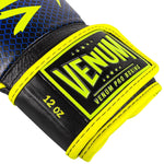 Venum Hammer Pro Boxing Gloves Loma Edition- Velcro – Blue/Yellow picture 3