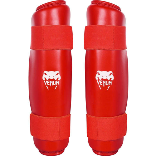Venum Karate Shin Pad & Foot Protector - Red - picture 2