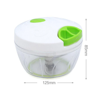 Speedy Chopper Manual Food Processors Meat Vegetable Manual Slicers Plastic Mincer Kitchen Tools