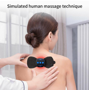 Portable Charging Massager Stickers Neck Stickers Cervical Vertebra Physiotherapy Instrument
