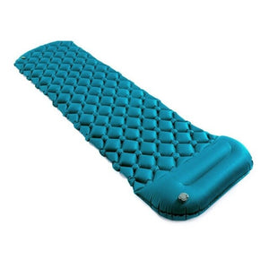 Outdoor Inflatable Camping Mat Pad Cushion Protable TPU Beach Sleeping Mattress