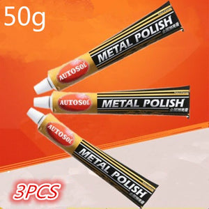 German AUTOSOL metal polishing paste scratch copper rust repair hardware stainless steel polishing 50g100g