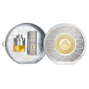 AZZARO WANTED EDT + DEODORANT SPRAY