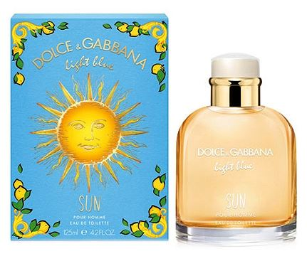 Dolce & Gabbana Light Blue Sun Pour Homme EDT 125ml