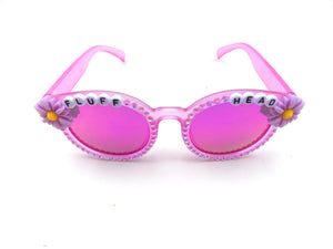 More colors! FLUFFHEAD decorated sunnies