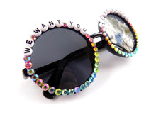 Load image into Gallery viewer, More colors! WE WANT YOU TO BE HAPPY round sunnies