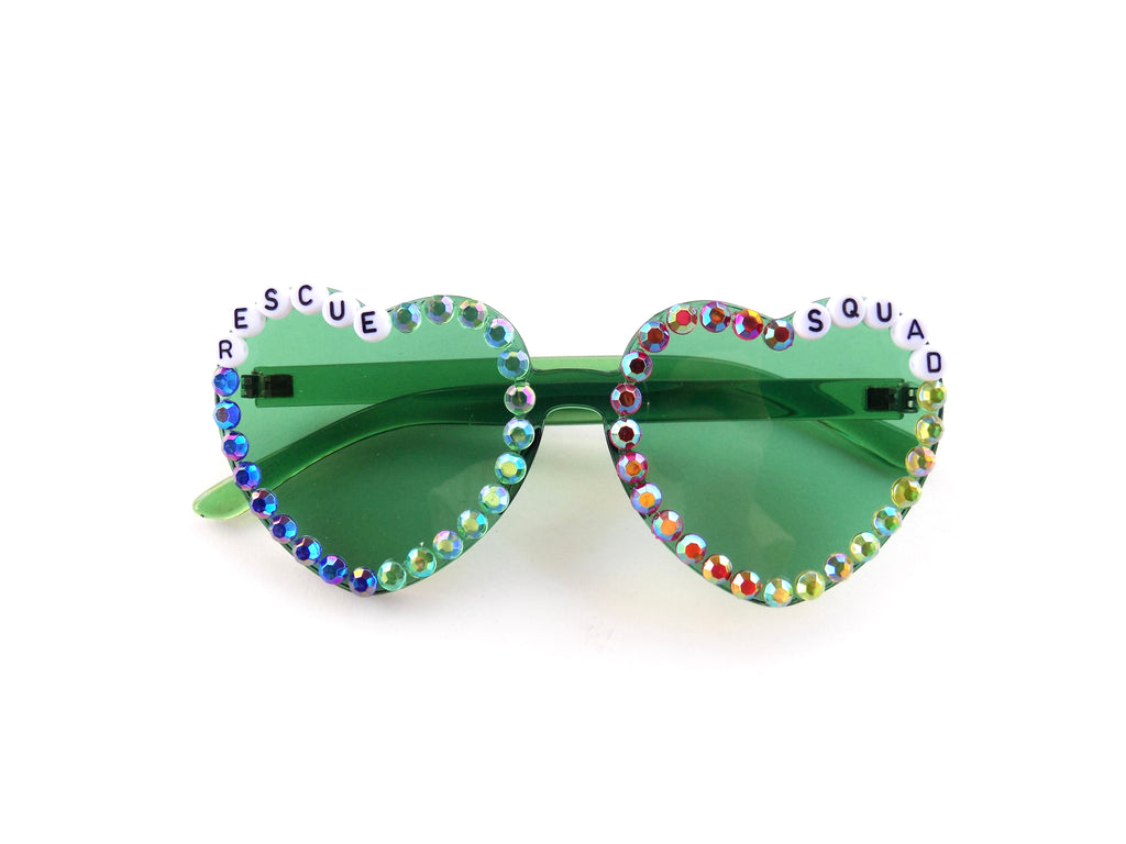 RESCUE SQUAD heart-shaped sunnies