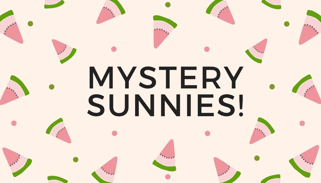 MYSTERY DECORATED SUNNIES! Imperfect sunnies at HUGE DISCOUNT!