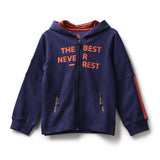 Boys Sweat Shirt with Hoodies AW19-KF-BKT-14075 Blue