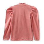 Girls Cotton Knit Half Sleeve T-Shirt AW19-KF-GK-15002 Peach