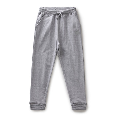 Girls Solid Joggers AW19-KF-GK-15067 Grey