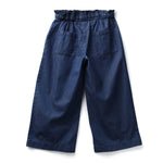 Girls Solid Full Pants AW19-NDF-GKT-15056 Navy