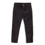 Boys Solid Corduroy Full Pants AW19-WC-BKT-170046 Brown