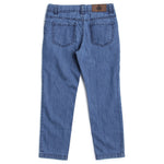 Boys Denim Full Pant With Mid Wash Effect AW19-WC-BKT-170073 Blue