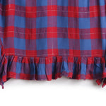Girls YD Plaid Dress AW19-WF-GKT-15024 Red