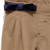 Infants Solid Cotton Full Trouser  SS20-KF-INF-2147 Beige