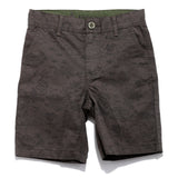 Boys Printed Cotton Shorts SS20-NDF-BKT-17098 Olive
