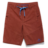 Boys Ribstop Shorts SS20-NDF-BKT-17099 Brown