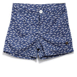 Girls Printed Shorts SS20-NDF-GKT-20016 Dark Blue