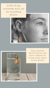 Water for Life earrings
