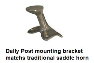 Old Style Roping Saddle Horn