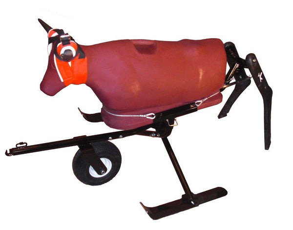 7K Something Steer Total Team Roping Training System - Maroon