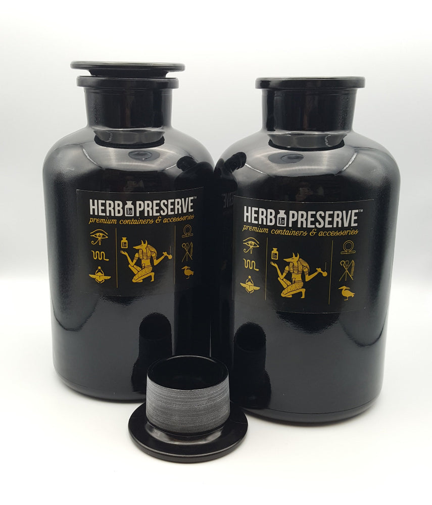 Herb Preserve Premium Glass Jars