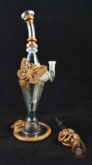 Copper Clad Alchemist Butterfly Rose Set
