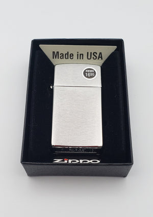 Zippo Lighters - Chrome & Brass