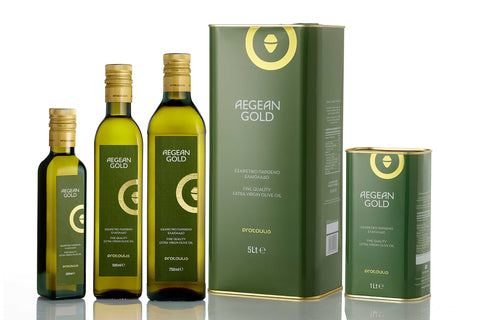 Extra Virgin Olive Oil AEGEAN GOLD