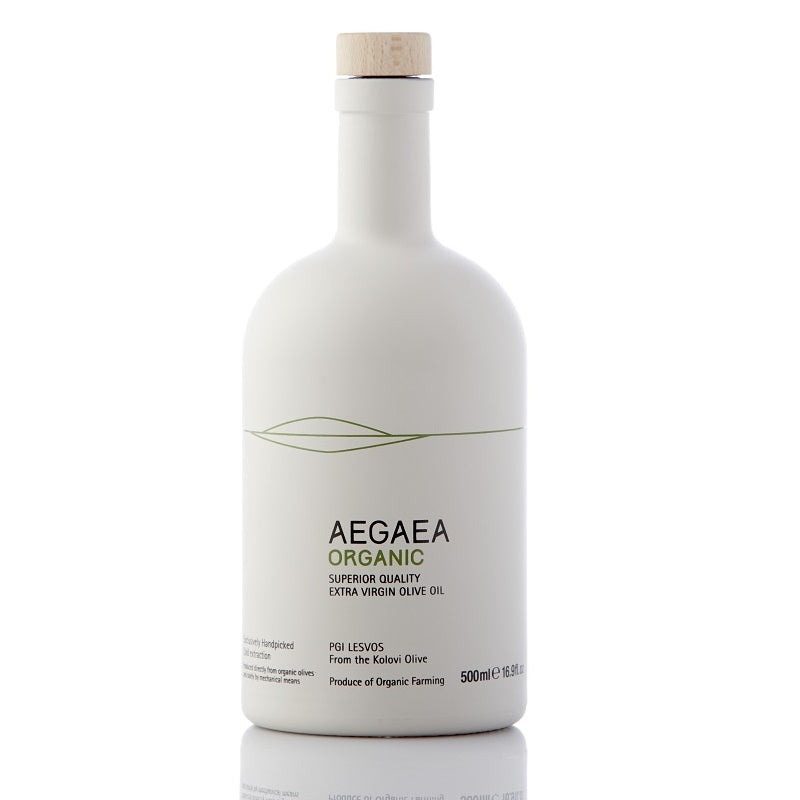 Organic Olive Oil AEGAEA BIO - Best Greek Extra Early Harvest Extra Virgin Organic Olive Oil | Best Farm Olive Oil - GREEN PAPA.