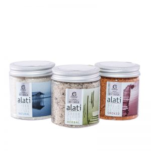 Sea Salt Triple Set | Buy Online Gourmet Sea Salt - GREEN PAPA.