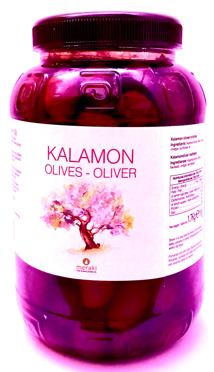 Kalamata Olives 1 kg. - Best Farm Olives from Greece - GREEN PAPA.jpeg