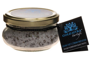 Sea Salt With Black Truffle | Gourmet Truffle Products - GREEN PAPA.