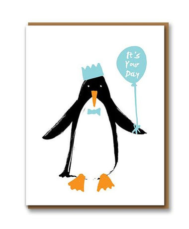 Letterpress - Penguin