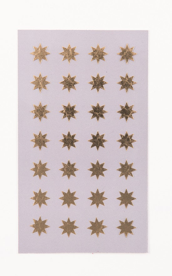 Rico Stickers - Gold stars 12mm